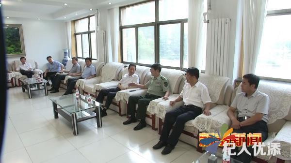 新泰市委书记刘钦海到泰安军分区走访慰问