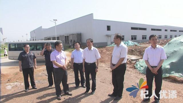 新泰市委書記劉欽海到新汶街道調研重點項目建設情況